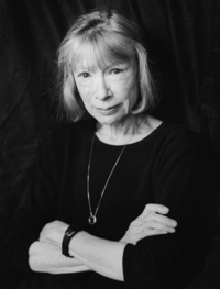 2000, New York, New York, USA --- Writer Joan Didion --- Image by © Christopher Felver/CORBIS